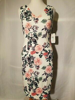 $ CDN74.69 • Buy NEW   Ivanka Trump  Floral Print Sheath Dress Size 8