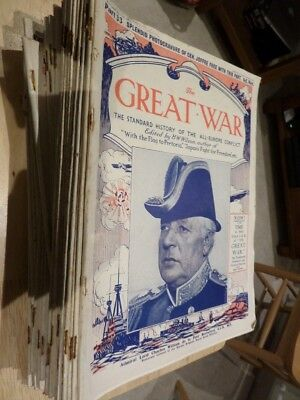 £35 • Buy The Great War - The Standard History Of The All-europe Conflict - 43 Issues
