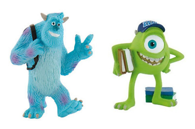 Official Bullyland Monsters Inc University Figures Toys Cake Topper Toppers • 3.50£