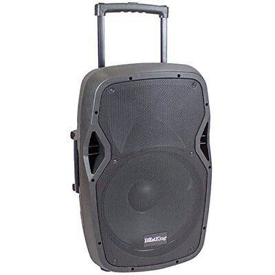 "$239.99 • Buy 15"" Active 1000W Watts Portable Battery Powered PA Speaker W/ Bluetooth-BDS15BAT"