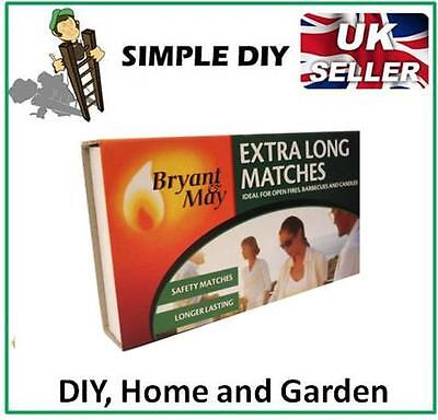 Extra Long Matches Box Of Long Safety Matches BBQ Oven Fire Lighter Starter  • 1.65£