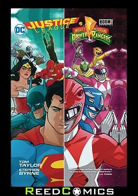 £12.50 • Buy JUSTICE LEAGUE POWER RANGERS GRAPHIC NOVEL New Paperback Collects 6 Part Series