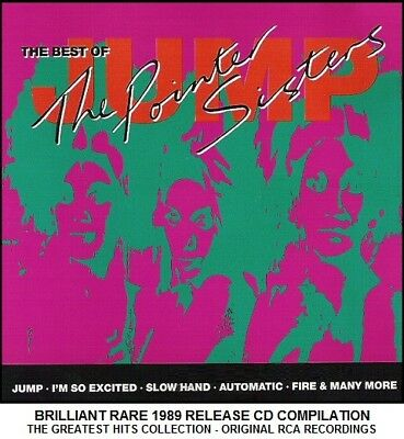 £3.69 • Buy The Pointer Sisters - Very Best Greatest Hits Collection RARE 70's 80's Disco CD