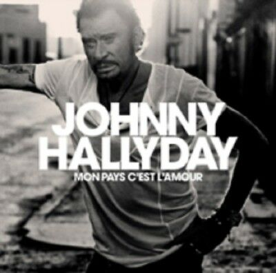 AU21.99 • Buy Johnny Hallyday Mon Pays C'est L'Amour + Book New CD Clearance