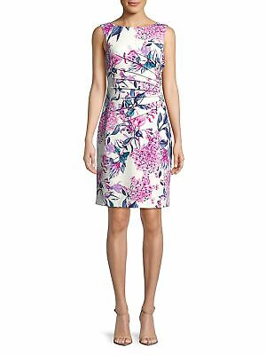 $ CDN74.69 • Buy NEW   Ivanka Trump  Floral Printed Starburst Dress Size 8