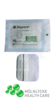 £2.99 • Buy Mepore Self-Adhesive First Aid Dressings Skin Sterile Cuts Wounds 6 X 7cm (X10)