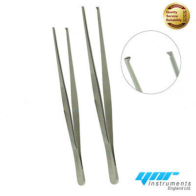 Ynr® Allis Kocher Iris 1.2 Toothed Dissecting Tissue Forceps Tweezers Dental New • 6.99£