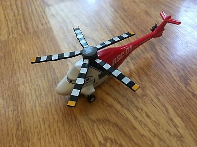 Disney Pixar Cars Toon Rescue Squad Chopper Helicopter Diecast • 15.96£
