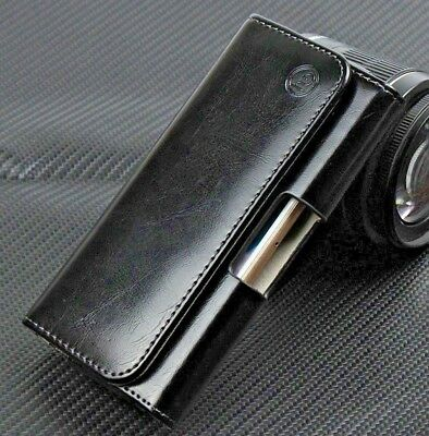 AU25 • Buy For Sony Xperia XZ Series Genuine Leather Tradesman Belt Buckle Clip Case Cover