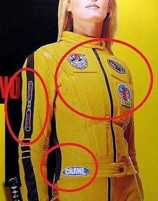 £22.41 • Buy Fancy Dress Halloween Party Movie Costume Kill Bill 5patch Set For Your Jumpsuit