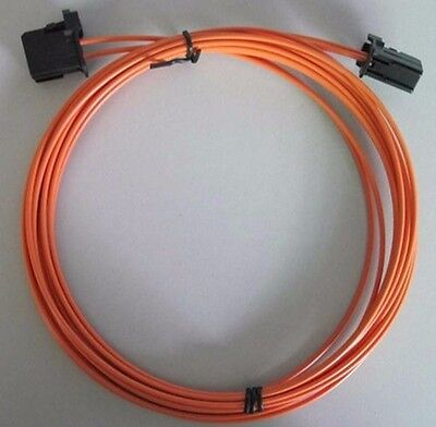 $37 • Buy MOST Fiber Optic Optical Cable Male To Male For BMW Mercedes Audi Porsche 5M 16'