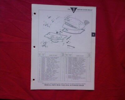 AU15 • Buy 1964 Evinrude 18 Hp Outboard Motor SPARE PARTS MANUAL Book Catalogue List