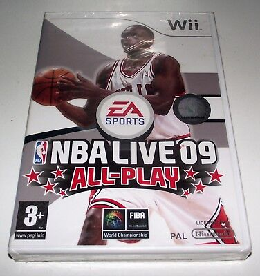 AU29.90 • Buy NBA Live 09 All Play Nintendo Wii PAL *New Sealed*
