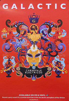 Galactic, Carnivale Electricos Poster (f5) • 6.55£