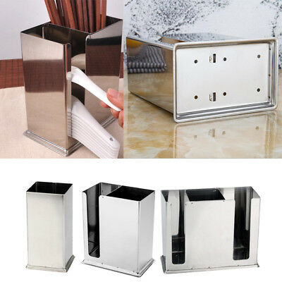 AU18.67 • Buy Stainless Steel Kitchen Utensil Caddy Stainless Steel Cooking Tools Holder