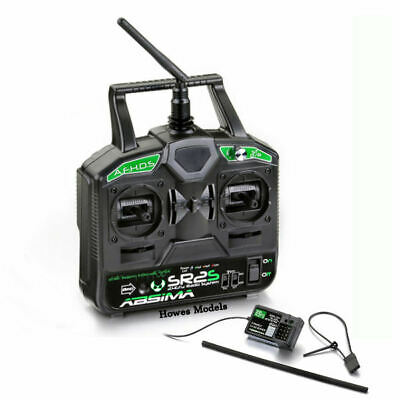 Radio Remote Control RC Electric Stick Transmitter Receiver 2.4GHz 2 Channel • 54.99£