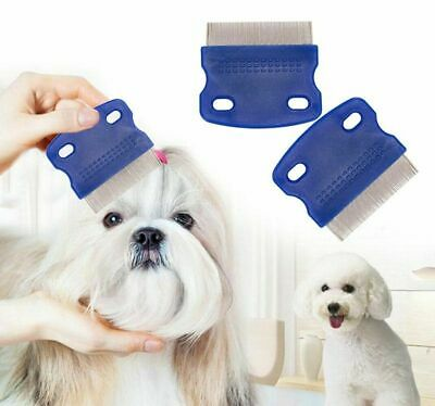 Head Lice Metal Comb Nit Hair Pet Safe Flea Comb Kids Or Pets • 1.90£