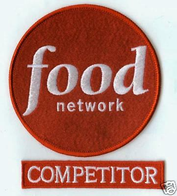 £10.84 • Buy Fancy Dress Party Halloween Costume Prop: Food Network Competitor 2-patch Set