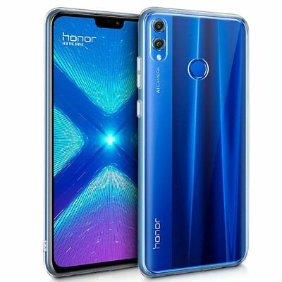 Cover For Huawei Honour 8X Gel TPU Silicone Rubber Transparent Lisa Case Lining • 2.63£