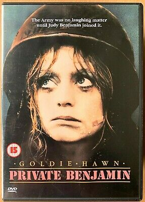 Private Benjamin DVD 1980 Goldie Hawn In The Army Comedy Classic  • 6.50£