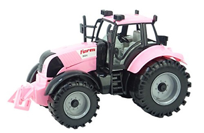 AU23.83 • Buy ToylandⓇ Friction Powered Farm Tractor With Opening Bonnet In Pink