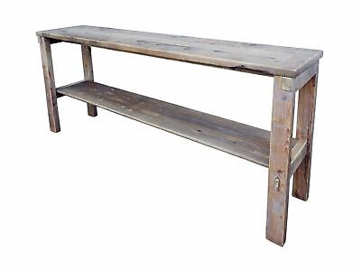 $450 • Buy Cottage Sofa Table Natural Color Reclaimed Wood Rustic Pine
