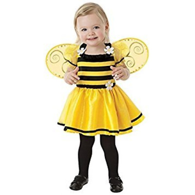 £19.15 • Buy Bumble Bee Age 1-2 Girls Fancy Dress Animal Insect Book Week Kids Childs Costume