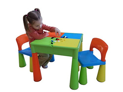 £83.10 • Buy Liberty House Toys 5-in-1 Activity Table And Chairs With Writing