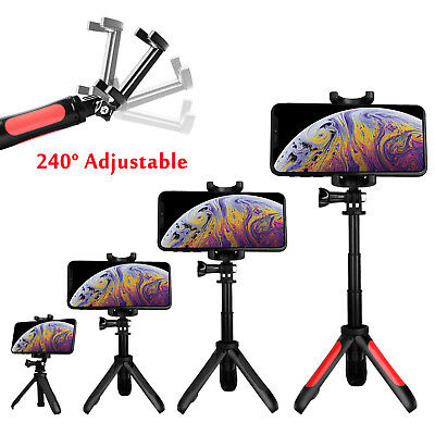 $10.98 • Buy Adjustable Portable Tripod Desktop Stand Desk Holder Stabilizer For Cell Phone