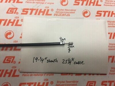 £14.31 • Buy  STIHL Fs38 Fs45 Fs55 Fs46 R Fc55 Throttle Cable  *compare ENDS*  OEM NEW   {D }
