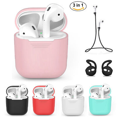 $ CDN3.78 • Buy For Apple AirPods Protect Silicone Cover Case Accessories Earphone Charger Skin