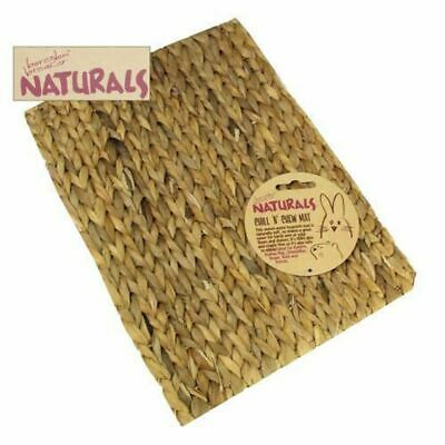 £4 • Buy Rosewood Boredom Breakers Chill N Chew Mat Small Animal Toy Rabbit Hamster