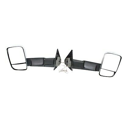 $244.57 • Buy Tow Mirror Set For 2002 09 Dodge Ram 1500 Left & Right Power Signal Light Glass