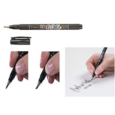 TOMBOW FUDENOSUKE Soft Brush Pen - Black  • 4.89£