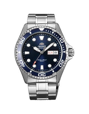 $ CDN163.28 • Buy Orient Men's 'Ray II' Japanese Automatic Stainless Steel Diving Watch FAA02005D9