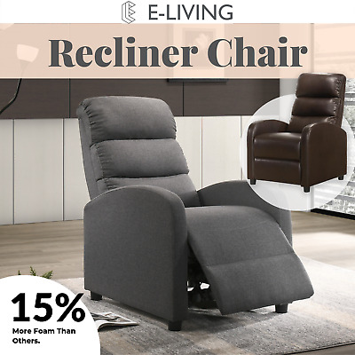 AU250.99 • Buy  Luxury Recliner Chair Armchair Sofa Couch Lounge In Fabric Or Leather
