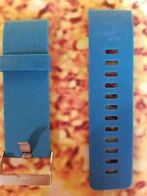 $ CDN5.26 • Buy Replacement Digital Watch Band Fitbit Blaze Small Silicone Rubber Wrist Blue New