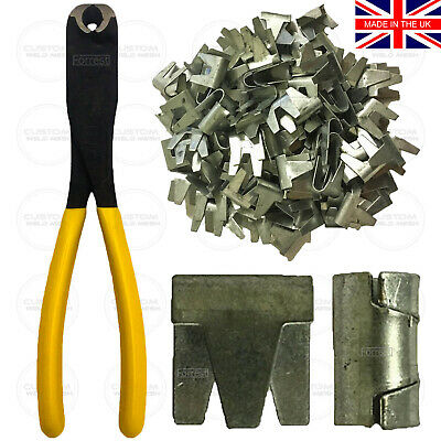 £9.55 • Buy Wire Mesh Clips Large CT35 Cage Making Clips Galvanised Gabions Wire Mesh Fecing