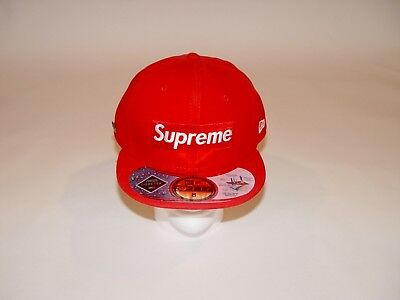 $ CDN442.99 • Buy *very Rare* New 2013 Supreme Box Logo Goretex New Era Fitted Hat Red F/w13