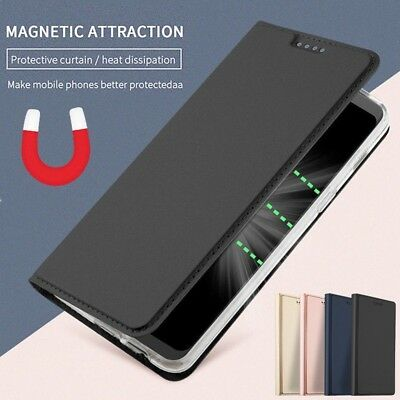 AU6.48 • Buy Magnetic Flip Leather Wallet Card Stand Cover Case Skin For OnePlus 5 5T 6 6T