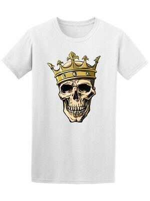 $11.99 • Buy Cool Skull With Crown Men's Tee -Image By Shutterstock