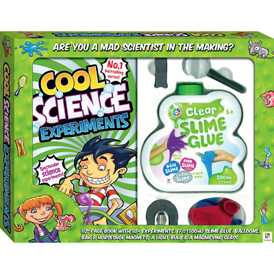 AU33.58 • Buy Cool Science Experiments Kit With Slime Glue 50+ Experiments Educational Toys