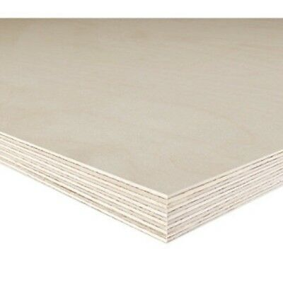 £5.45 • Buy Birch Plywood Sheets Woodworking Craft Pyrography 12mm Thick Chunky