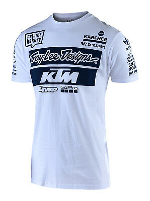 49466a78cdd ... Licensed Snapback Hat Youth Navy. 33.00  View Details. TROY LEE DESIGNS  2019 Team TLD KTM T-Shirt - White • 30.00