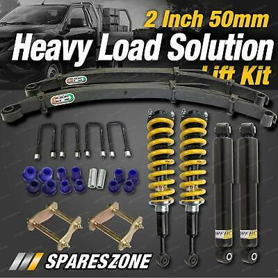 AU1195 • Buy 2 Inch Lift Kit EFS Leaf Constant HD Load Option For Mitsubishi Triton ML MN