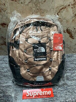 $ CDN1042.71 • Buy Supreme X North Face SS18 Metallic Rose Gold Backpack Borealis BRAND NEW