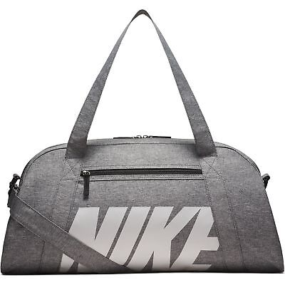 8c29ce3c903c Women s Nike Gym Club Training Duffel Bag Black Vast Grey • 34.99