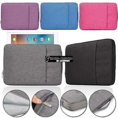 Carry Laptop Sleeve Pouch Case Bag For Apple Ipad 123456 Air 1/2 Pro 9.7 /12.9  • 10.99£