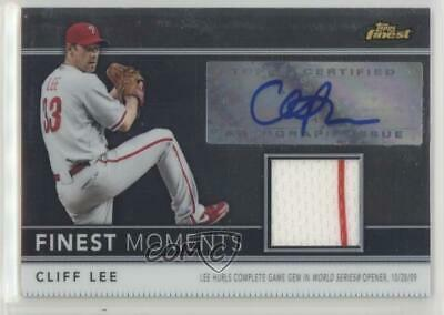 $46.54 • Buy 2011 Topps Finest Moments Relics /274 Cliff Lee #FMA5 Auto