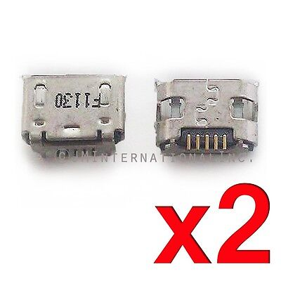 £4.39 • Buy 2X Polaroid Tablet 7.0 P709 Dock Connector Micro USB Charger Charging Port